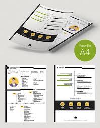 Free Creative Resume Design Templates 10 Best Free Resume Cv Design Templates In Ai U0026 Mockup Psd