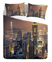 New York City Duvet Cover New York City Night Duvet Cover House Of Decor