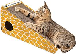 Cat Scratcher Replacement Pads Ourpets Alpine Climb Cat Scratcher Color Varies Chewy Com