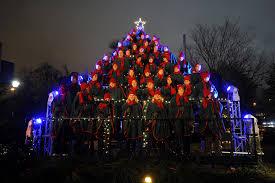 Singing Christmas Tree Lights Like Walking Straight Into Christmas Explore West Sweden