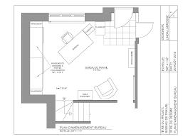 plan bureau plan d aménagement du bureau à domicile