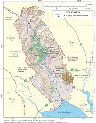 sonoma california map usgs california water science center water resources