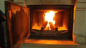 a large fire in a fireplace a romantic evening the smell of