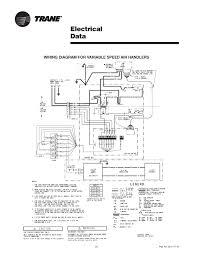 trane air handler wiring diagram on blower door safety interlock