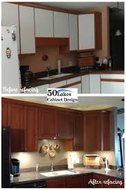 resurface kitchen cabinets before and after the 25 best cabinet refacing ideas on pinterest diy cabinet