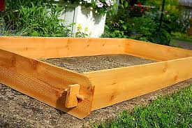 garden box kit garden raised bed planter flower box kit vegetable