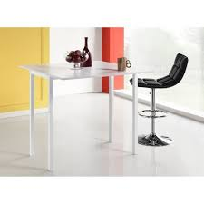 cdiscount table de cuisine table de bar extensible p 50 100 x l 100 x h 98 cm 90 cdiscount