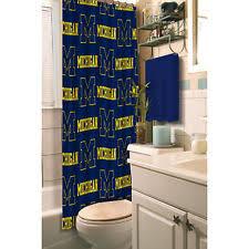 Of Michigan Curtains Michigan Wolverines Curtains Ebay
