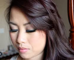 brown hair highlights red and black hair color ideas