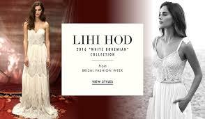 lihi hod wedding dress bohemian wedding dresses lihi hod white bohemian 2016 collection