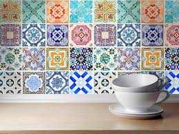 Kitchen Backsplash Tile Stickers Traditional Tiles Stickers Tiles Decals Tiles For