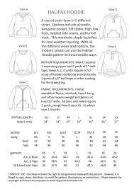 halifax hoodie hey june handmade