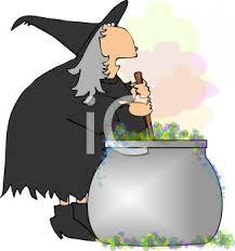 free halloween clipart witch cauldron royalty free clip art image fat halloween witch stirring a cauldron