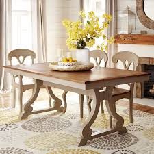 Build Your Own Marchella Linen Gray Extension Dining Table - Pier 1 kitchen table