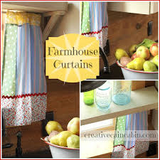 Vintage Style Kitchen Curtains by Best 25 Farm Curtains Ideas On Pinterest Farmhouse Style