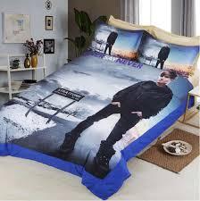 justin bieber bedroom set online shop justin bieber 3d bedding set print duvet cover set twin