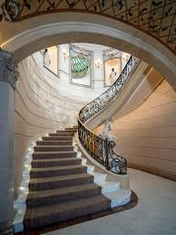 neoclassical chateau style estate texas idesignarch luxury home grand spiral staircase