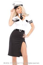 Halloween Costumes Stores Black White 3 Pc Pilot Costume Amiclubwear Costume Store