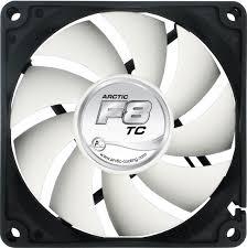 best fan on the market arctic f8 tc 80mm temp controlled case fan