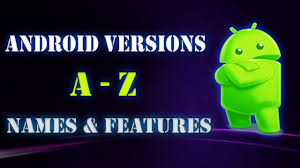 what android version do i do you the names of all android versions version 1 0 to