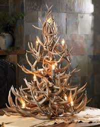 Redneck Christmas Deer Decorations by 35 Best Antler Christmas Trees Images On Pinterest Christmas