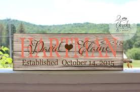 customized wedding gift custom family name sign customized wedding gift personalized