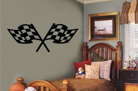 wall stickers for boys bedrooms decorate my house wall stickers for boys bedrooms racing flags vinyl decal wall sticker teen boy room garage shop