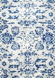 Damask Area Rugs Erased Damask Area Rugs Contemporary Area Rugs By Nuloom