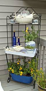 garden plant stands lowes trellises at lowes railing planters