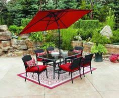 Patio Furniture Sets Walmart by Furniture Captivating Patio Umbrellas Walmart For Outdoor