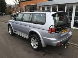 used mitsubishi shogun sport for sale rac cars