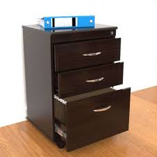 large wood file cabinet modern home office with black wooden file cabinet with three drawers