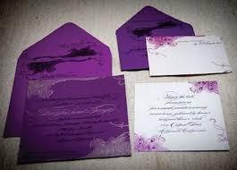 Wedding Invitations Purple Purple Wedding Invitations Orionjurinform Com