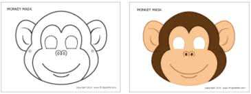 Paper Plate Monkey Craft - craft ideas for the new year of monkey