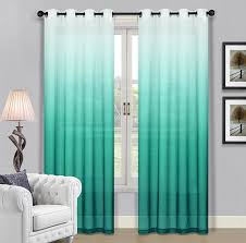 amazon com beverly hills window treatment collection fabric ombre