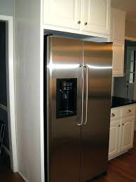 how to make your fridge look like a cabinet kitchen cabinets refrigerator surround refrigerator surround cabinet