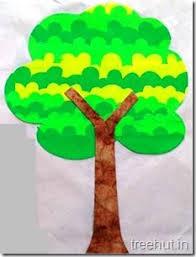 leaf printing tree craft 8 craft ideas tree