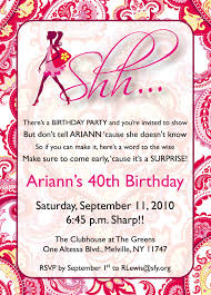 40th Birthday Invitation Cards New Birthday Card All About Birthday Invitation Cards