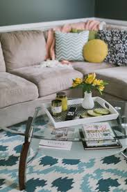 diy coffee table tray tori watson