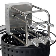 Fire Pit Rotisserie by Carson Rodizio The Innovative Rotisserie For Grills