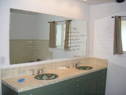 Bathroom Mirror Frame Ideas Inspirational Bathroom Mirrors With No Frame 47 With Bathroom