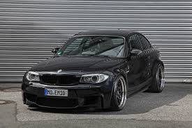 bmw 1m black bmw 1m coupe modified by ok chiptuning boasts 434 horses