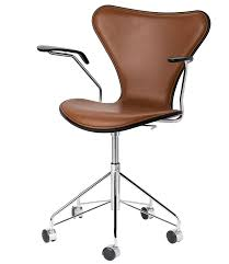 Leather Office Chair Front Fritz Hansen Search
