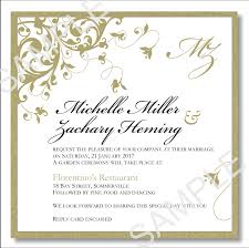wedding template invitation budget wedding invitations template wedding flourish gold