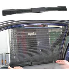 Auto Roller Blinds Auto Car Curtain Side Window Roller Blinds Scalable Mesh Sun Shade