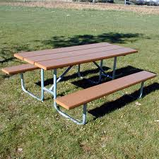 recycled plastic picnic tables recycled plastic picnic table