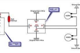 wiring diagram for air horn relay wiring diagram