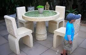 Stone Chair Stone Garden Furniture Descargas Mundiales Com