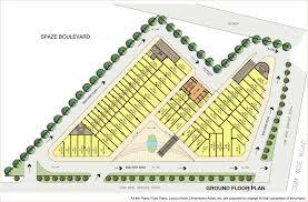 floor plans of boulevard gurgaon spaze commercial boulevard