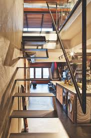Industrial Stairs Design Smart Industrial Solution A Bit Scary But Smart Interior